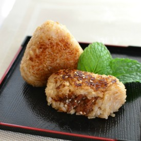 Seared Bacon Onigiri