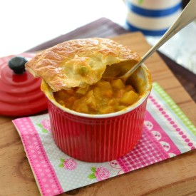 Curry Chicken Pot Pies