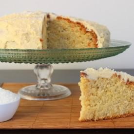 Sugar-free Coconut Cake