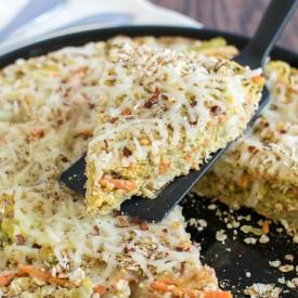 Cabbage Oatmeal Frittata