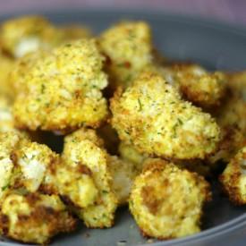 Roasted Cauliflower with Panko