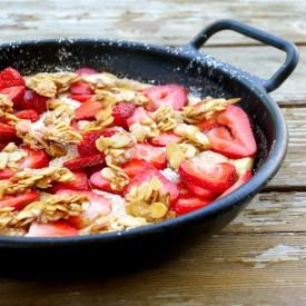 Strawberry Soufflé Omelet
