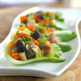 Two-Bite Potato Salad Cups