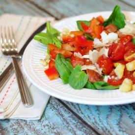 Spinach Salad with Chorizo