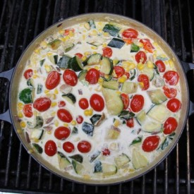 Summer Zucchini Succotash