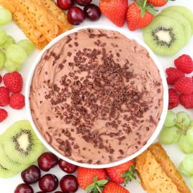 3-Ingredient Chocolate Fruit Dip