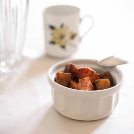 Cinnamon Ghee Roasted Sweet Potatoe