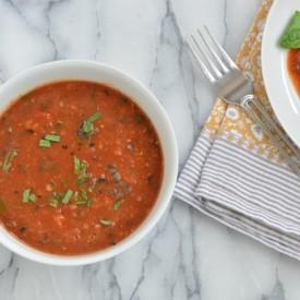 Charred Tomato Vinaigrette