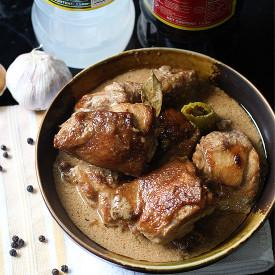 Chicken Adono in Coconut Milk