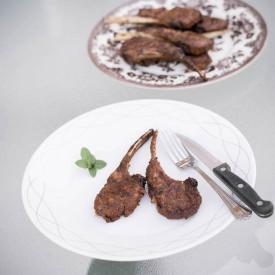 Grilled Cumin Crusted Lamb Chops