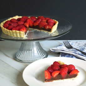 Strawberry Chocolate Tart