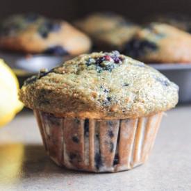 Lemon-Blueberry-Banana Muffins