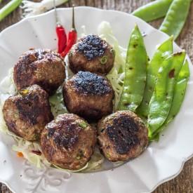 Grilled Vietnamese Meatballs
