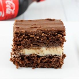 Coca-Cola Ice Cream Cake