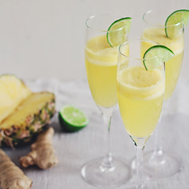 Ginger Champagne Cocktail Recipe