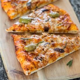 Chicken Of The Sea Pizza