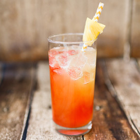 Pina Co-Lava Cocktail