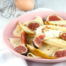 Crepes With Figs And Pears