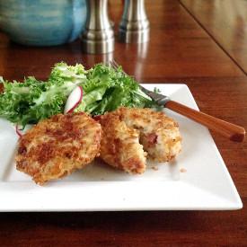 Ham and Rice Croquettes