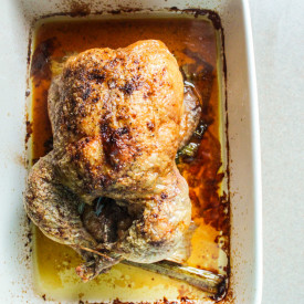 Low and Slow Roasted Chicken