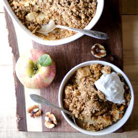 Apple Crisp – Sugar and Gluten Free