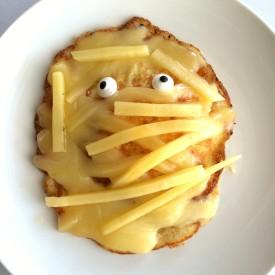 Cheesy Egg Mummy