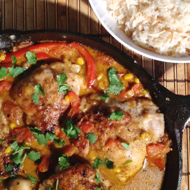 Curry-and-Yogurt Braised Chicken