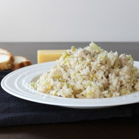 Chicken and Leek Risotto