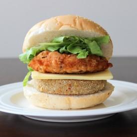 Chickpea Chicken Burger