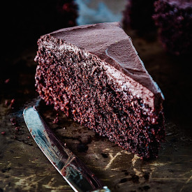 Roasted Cocoa Chocolate Cake