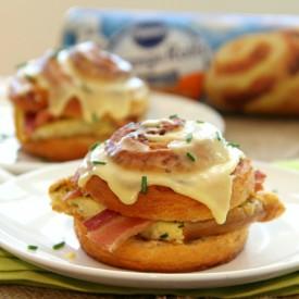 Bacon-Orange Breakfast Sandwiches