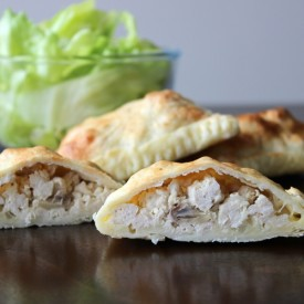 Chicken and Mushroom Pastries