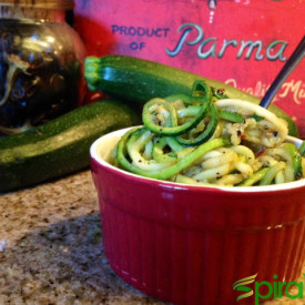 Vegetable Spiralizer Herbed Zoodles