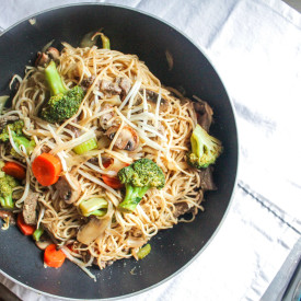 Straight-Up Chicken Stir-fry