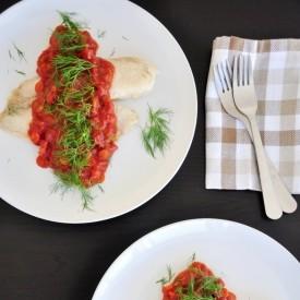 Tilapia Fillet in Tomato Sauce