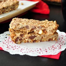 Triple Nut and Chocolate Energy Bars