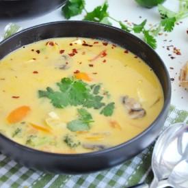 Authentic Thai Vegetable Soup