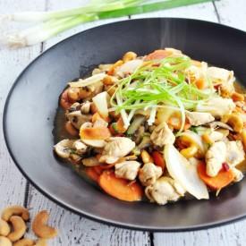 Thai Stir-Fried Chicken With Cashew