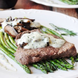 30-Min Broiled Steak With Béarnaise