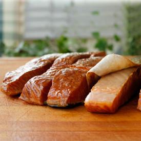 Warm Smoked Salmon