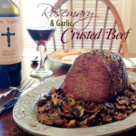 Rosemary and Garlic Crusted Beef