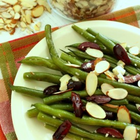 Green Beans with Feta and Olives