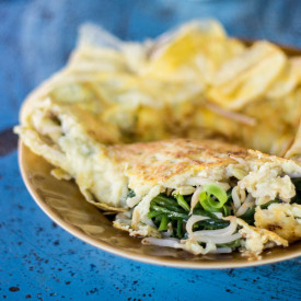 Simple Lao Omelette