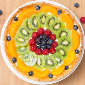 Fruit and Custard Tart