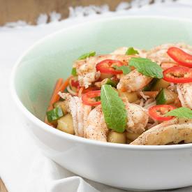 Asian Noodle Shrimp Salad
