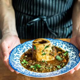 Puy Lentil and Bone Marrow Stew