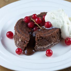 Molten chocolate cake aka moelleux