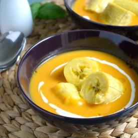 Plantain & Butternut Squash Soup