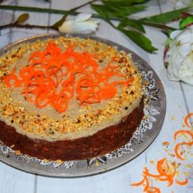 Raw Carrot Cake – Gluten Free, Suga