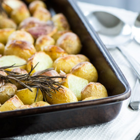 Roasted New Potatoes with Rosemary